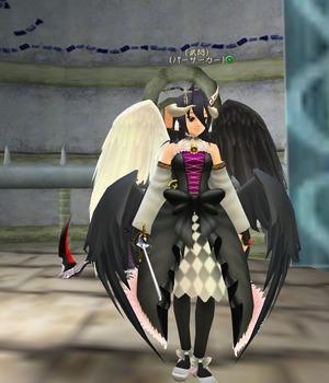 moe 堕天使の羽根+アルベド羽根
