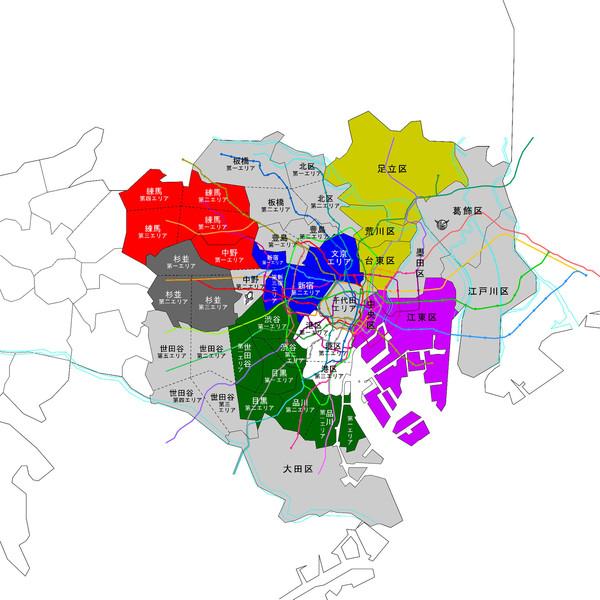 アクセルワールド19巻レギオン領土MAP